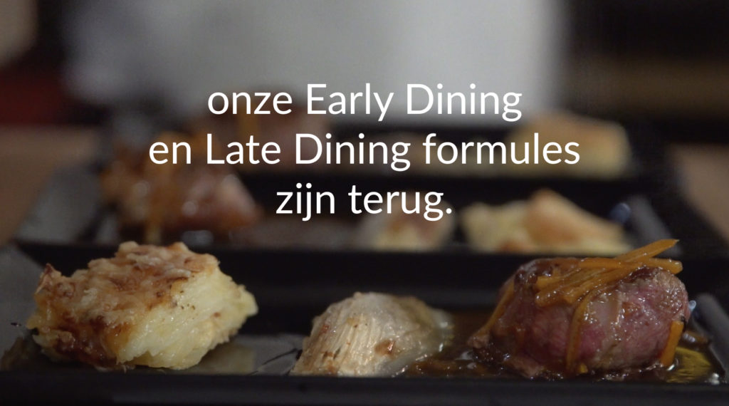 Early and late dining - De Voorspoed Mortsel